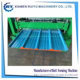 Panneau de paroi métallique trapézoïdal et machine à profiler pour toitures