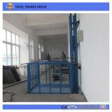 10m de la mesa elevadora eléctrica de carga hidráulica de elevación de carga pequeña