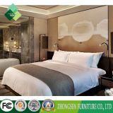 Kundenspezifischer Land-Art-Aschen-hölzerner König Size Bed für Hotel-Schlafzimmer (ZBS-864)