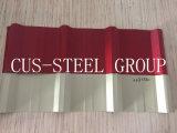 Telhado de aço na Nigéria 750/680 Lençóis/folha de metal de metal em relevo