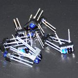 Los sensores de infrarrojos del Sensor de contacto de Corrente Tcrt5000 de infrarrojos del transductor de 4 ejes de movimiento infrarrojos ópticos reflectantes Módulo fotoeléctrico