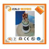 電気ケーブルおよびワイヤーUL1028の単心ワイヤー8AWG 300V PVCケーブルの上のホックは&Tinned銅のマルチカラー耐火性を暴露する