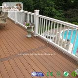 Plancher extérieur imperméable à l'eau de Decking du balcon WPC