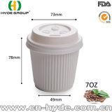 устранимый бумажный стаканчик кофеего стены пульсации 4oz для дегустации
