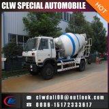 4*2 LHD 구체 믹서 트럭, 판매를 위한 중국에서 작은 구체 믹서 트럭