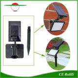 48LEDs 태양 가벼운 잔디밭은 정원 램프에 의하여 강화된 LED 센서를 스포트라이트로 비춘다