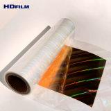 試供品の印刷のための提供されたホログラフィック透過冷たいラミネーションのフィルムの虹ホログラフィックホイル