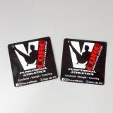 Kundenspezifische Ordnungs-glattes Papier-Aufkleber-Kennsatz u. wasserdichter Vinylaufkleber-Kennsatz