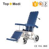 مستشفى تجهيز ألومنيوم جديد يطوي يدويّة يرقد كرسيّ ذو عجلات لأنّ مسنّون