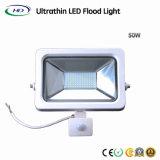 50 W com eficiência energética Holofote LED SMD com Sensor de PIR