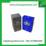 La cartulina cosmética impresa Shinny el rectángulo de empaquetado del OEM