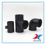 Polyvinylchlorid-Plastikbefestigungen, die T-Stück für Wasserversorgung verringern