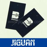 Impressão personalizada de fábrica Tags pendurar roupas