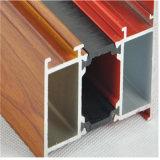 Deur van de Gordijnstof van de Badkamers van de Legering van het Aluminium van Heph de Franse met Dubbel Glas