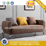 Sofà di cuoio moderno del salone domestico della mobilia (HX-8NR2109)