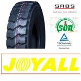 marca de fábrica de 12r20 11r20 Joyall que mina el neumático resistente del carro de TBR
