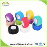 Het latex-vrije Samenhangende Zelfklevende Verband van het Verband met Goede Kleverigheid