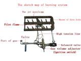 [أف-321] [فست فوود] مفتوح عميق [كفك] غاز دجاجة [فرر] مفتوح آليّة عميق