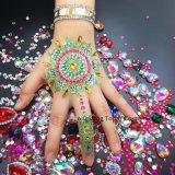 Braço luminosa e jóias Handpick Gem autocolante de tatuagem tatuagem arte corporal da Vela Aquecedora Flash temporária na parte escura (SR-33)