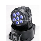 Mini7*12w beweglicher Kopf RGBWA 5 in 1 LED-Wäsche-Beleuchtung