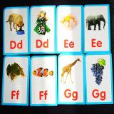 De Speelkaarten van de Flits van het Document van de Zak van het alfabet