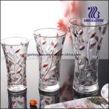 Vaso de vidro colorido para Decrative Home (GB1510SY/PDS)