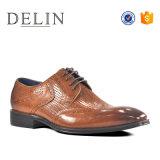 De último diseño venta al por mayor de los hombres zapatos casuales de cuero auténtico