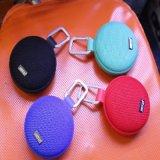 Haut-parleur portatif imperméable à l'eau circulaire de radio de 2017 mini Bluetooth