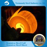 Alimentação do moinho de rolos laminados a quente 201 Bobina de Aço Inoxidável