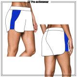 Progettare gli Shorts per il cliente respirabili di sport del nylon delle donne