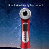 LED Microcurrent Ultrasonidos fototerapia rejuvenecimiento de la piel de cara belleza el hogar de la máquina