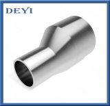 Aço inoxidável Butt-Weld sanitárias redutor excêntrico (DY-R05)