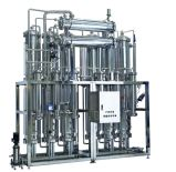 Distillatore a più effetti automatico pieno dell'acqua