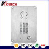 照らされたボタンが付いている小型ホットラインの電話Analogue/IP/VoIP電話Knzd-06