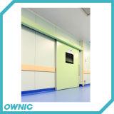 Puerta deslizante hermética automática Qtdm-12 con el motor de Dunker para el sitio de Ot del hospital