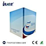7.0 Zoll LCD-Bildschirm-Video-Player-Broschüre