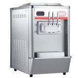 avec du ce machine reconnue de crême glacée de doux d'acier inoxydable