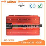 Inversor da onda de seno da C.A. da C.C. de Suoer 4000W 24V 220V 50Hz (FPC-D4000B)