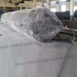 Sacos hinchables de lanzamiento de la nave de goma marina de la flotabilidad