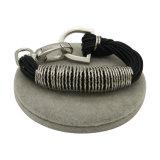 Ressort en spirale des cordes de cire bracelet de métal