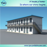 두 배 층 샌드위치 위원회 조립식 가옥 집