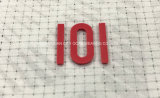 Starker Platten-Silikon-Wärmeübertragung-Kennsatz für Bekleidungszubehör
