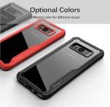 360 iPhone Xのための自動焦点柔らかいTPUのケース