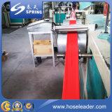 Landwirtschaftliche Hochdruckbewässerung-flexibles Pumpen-Wasser Belüftung-gelbe/blaue/rote Bewässerung gelegter flacher Schlauch