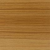 papel de madeira da melamina da grão do Teak de 1250mm*2470mm para MDF HPL