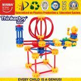 Brinquedo superior do edifício DIY da lanterna plástica inteligente dos miúdos mini