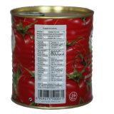 Las conservas de pasta de tomate para todos los tamaños de estaño