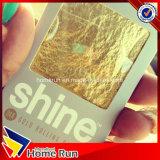 Zigarettenpapier des Shine-24K Gold Vor-Gerolltes des König-Size Cone