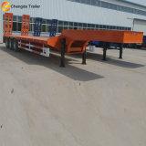 China-Fabrik-niedriger Bett-Schlussteil, 40FT Hilfsschlußteil-LKW