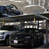 2つのポストの油圧鋼鉄二重層車の上昇の駐車